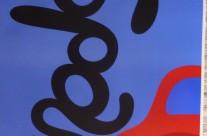 Anoldie 100×70 blå 900 kr #256