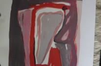 Bram Van Velde 89 x60  1.200 kr #55