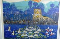 Espen Hanefelt løvefisk 49×56 1.900 kr #2