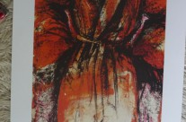 Jim Dine 1984 49×76 500 kr #261